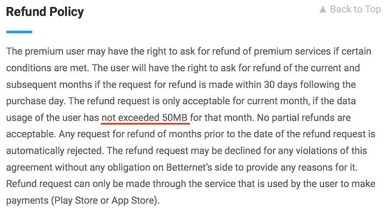betternet for chrome review