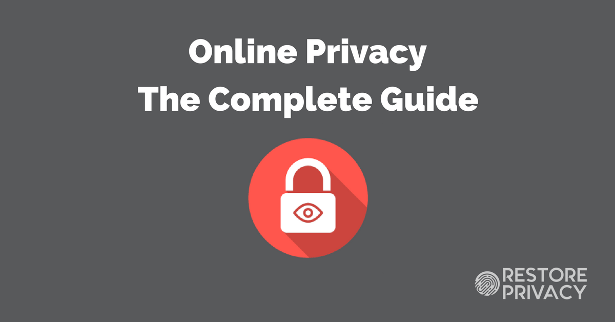 Simple Online Privacy Guide