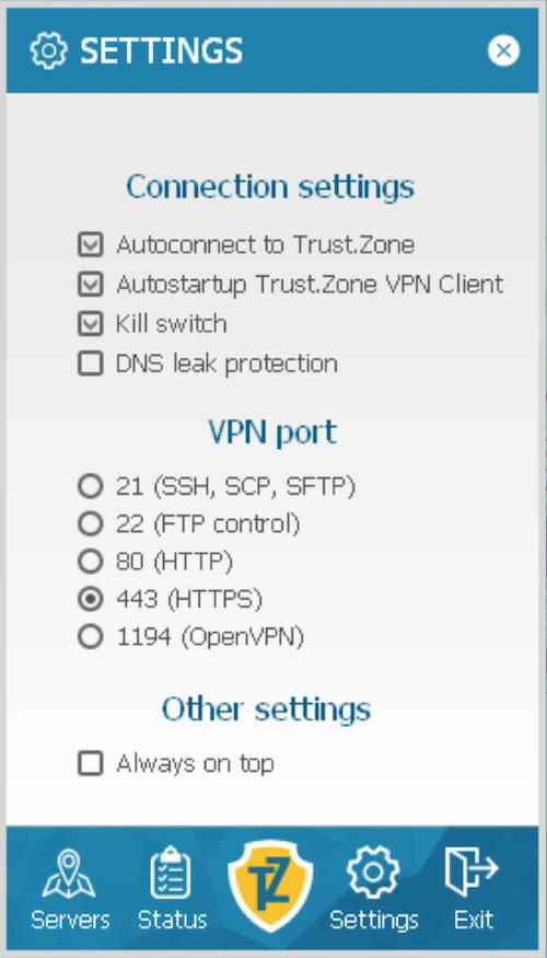 Trust Zone IPv6