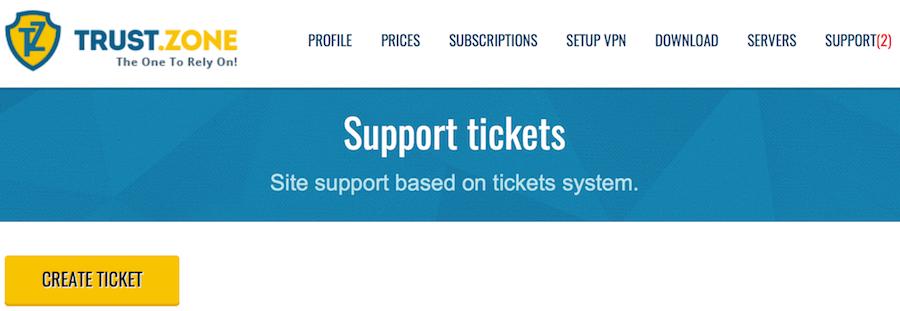 Trust Zone support