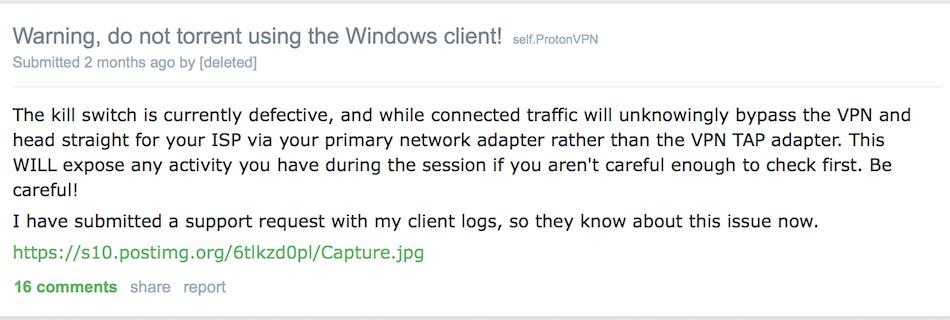 protonvpn app windows