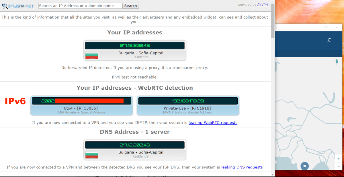 nordvpn webrtc leak windows
