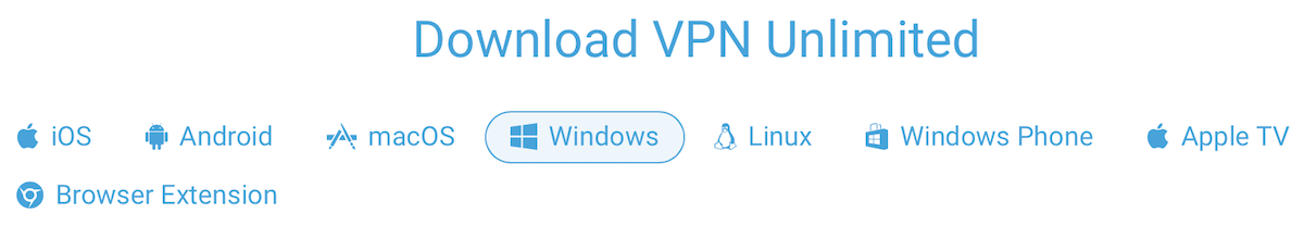 vpn unlimited apps