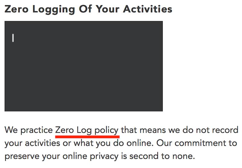 zero logs purevpn