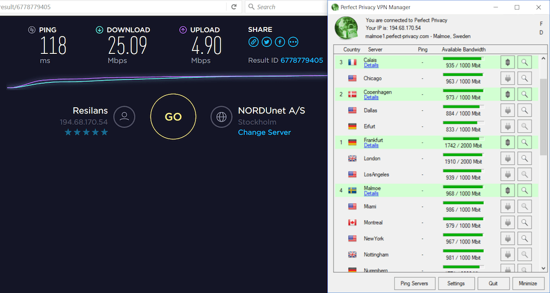 multi-hop vpn speed cascade