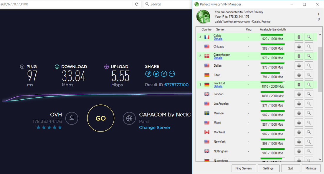 triple VPN speed