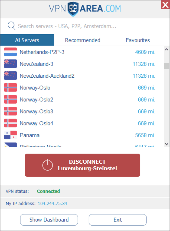vpn area best vpn