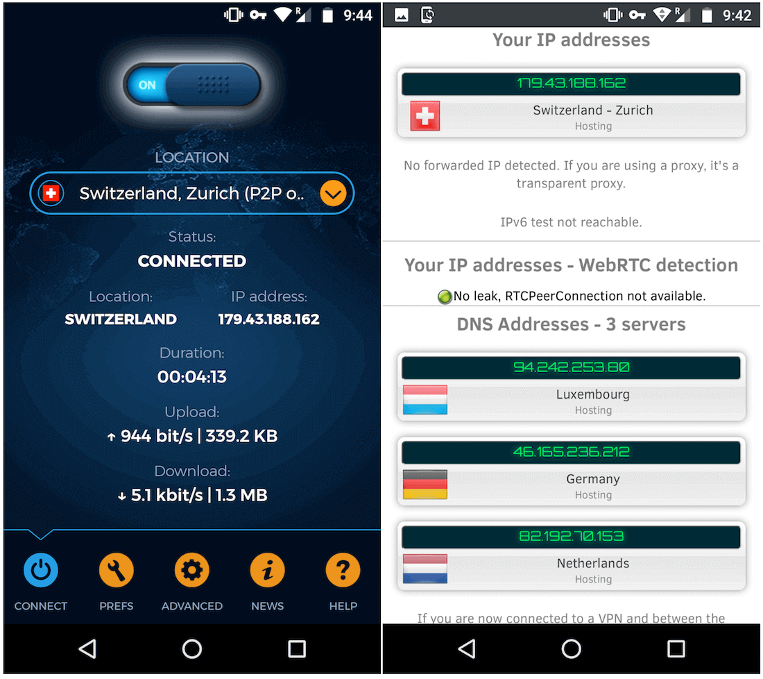 vpnac android vpn