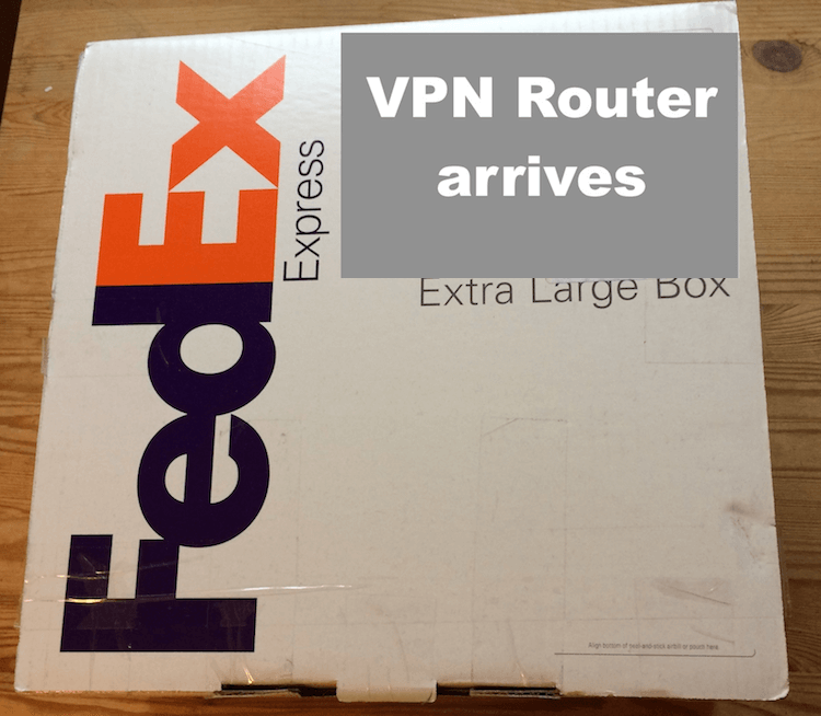 vpn router sabai