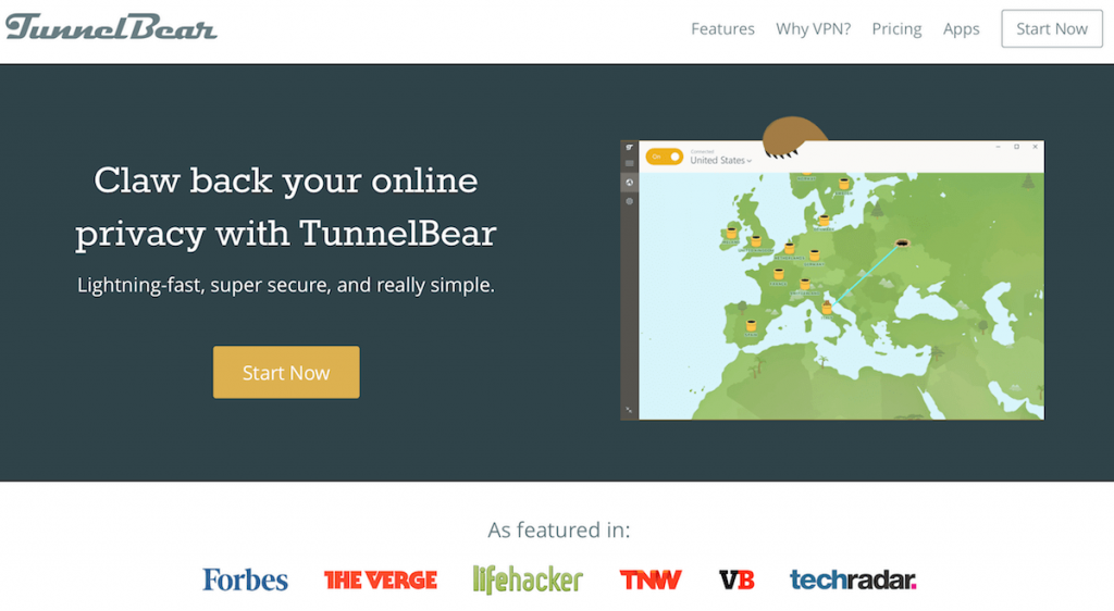 tunnelbear free trial