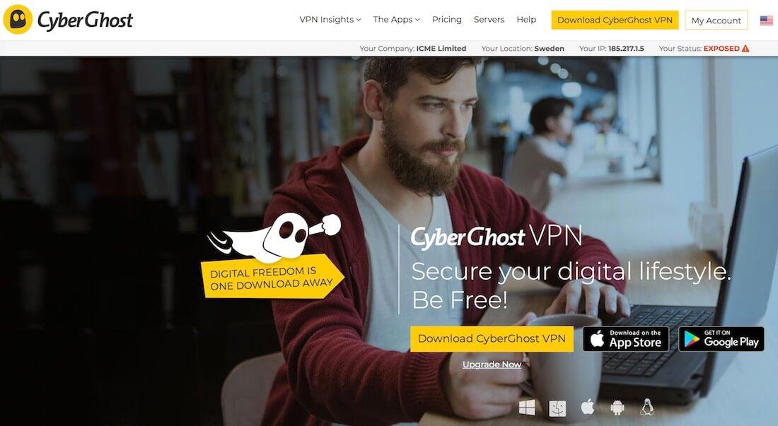 Cyberghost vpn 2019 download free {cracked +key}.