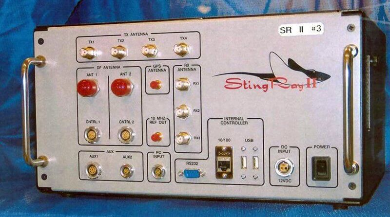 stingray simulator surveillance