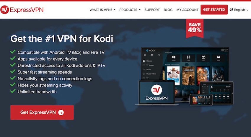 best vpn for streaming kodi