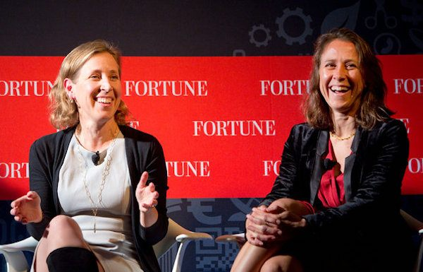 anne and susan wojcicki