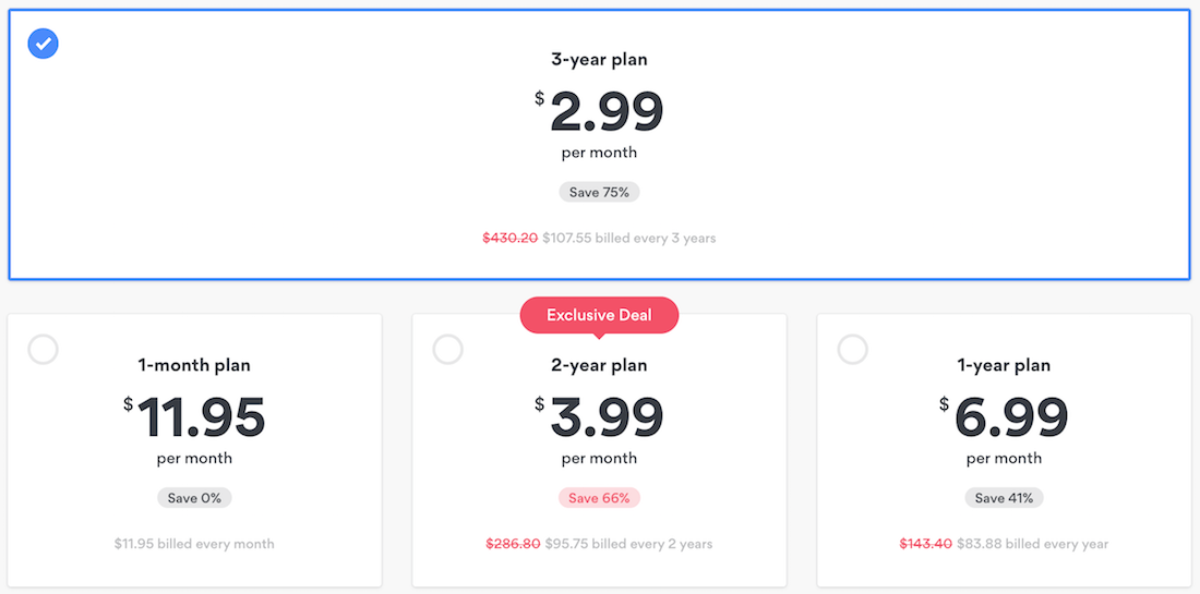 nordvpn discount price