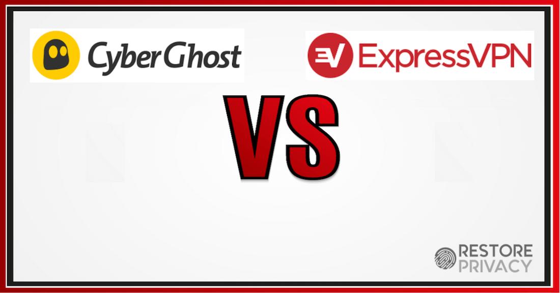 cyberghost vs expressvpn