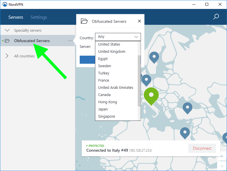 how to use nordvpn china