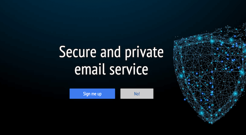 best secure email service
