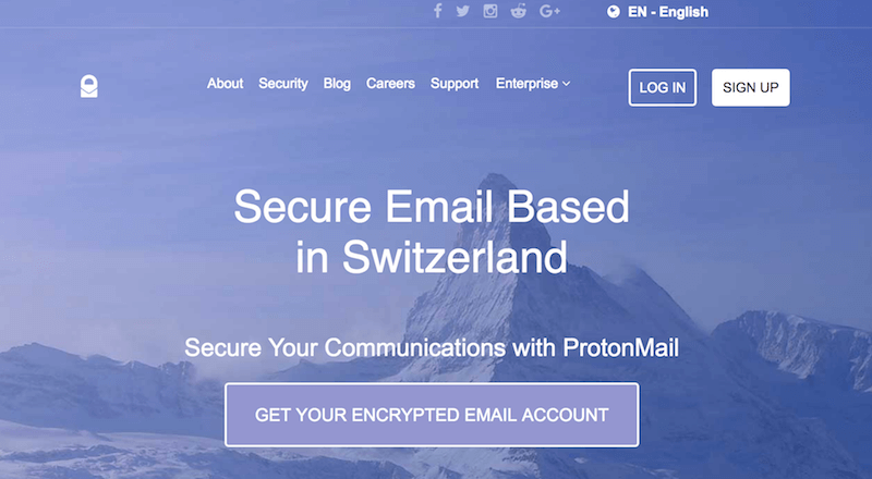 Best Secure Email: Top 10 Services for 2019 | Restore Privacy