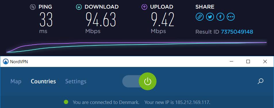 nordvpn vs cyberghost speed
