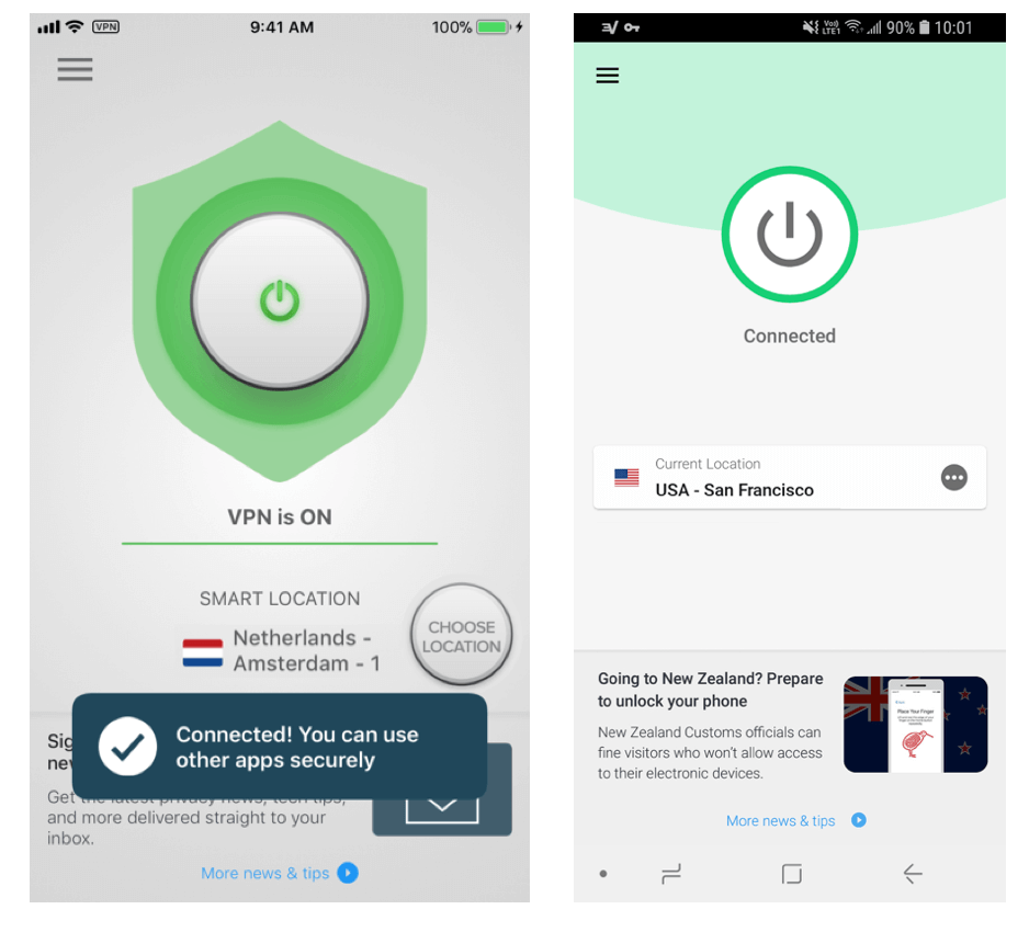 expressvpn ios and android