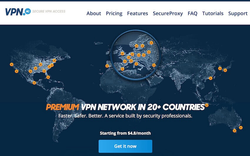 fastest vpn usa