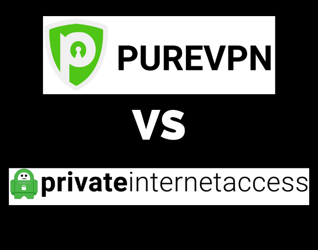PureVPN vs private internet access
