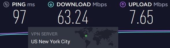private internet access test