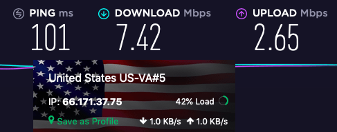 protonvpn us server speed tests