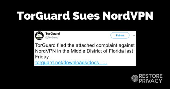 NordVPN TorGuard lawsuit