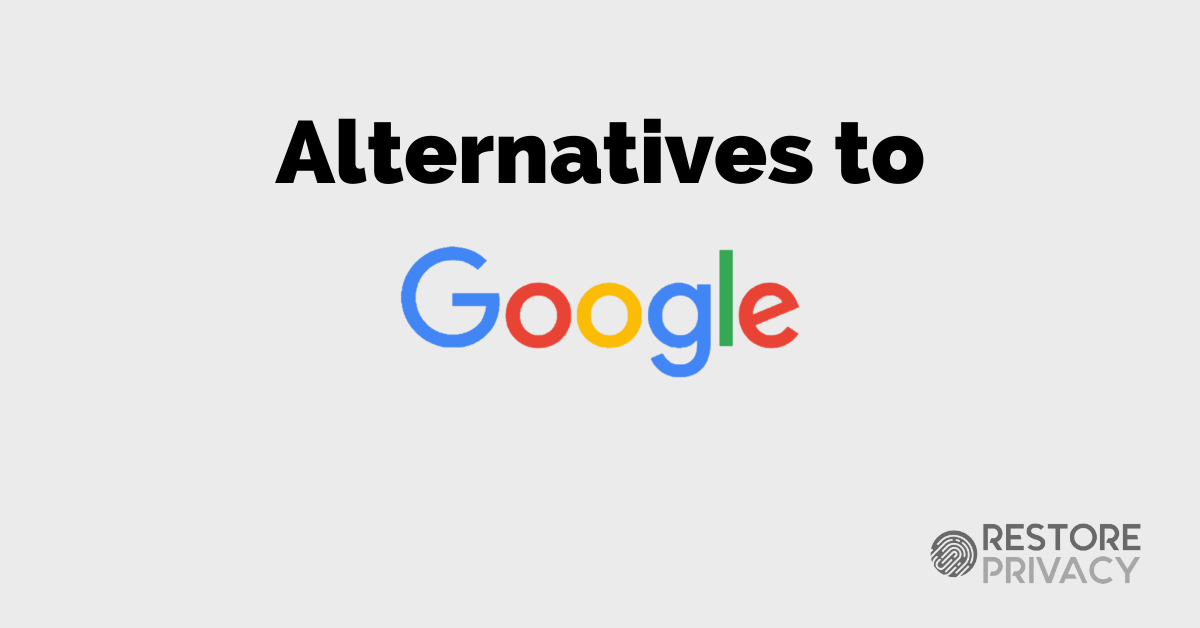 alternatives to Google 2020