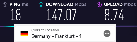 expressvpn vs nordvpn speed germany