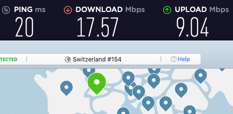 nordvpn speed comparison with expressvpn