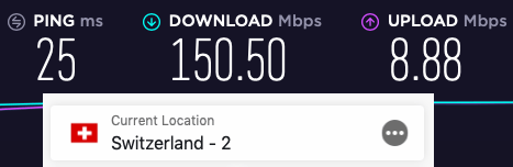 nordvpn vs expressvpn speed switzerland