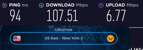 vpn.ac us speed tests
