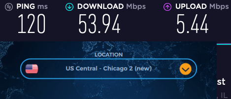 vpnac review us speeds