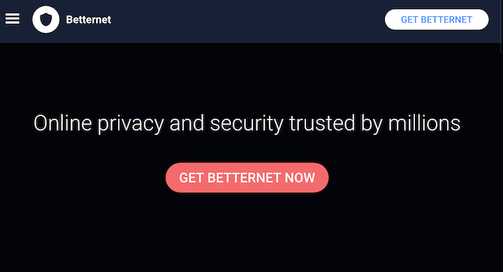 Betternet VPN Review - Malware & Slow Speeds (Avoid)