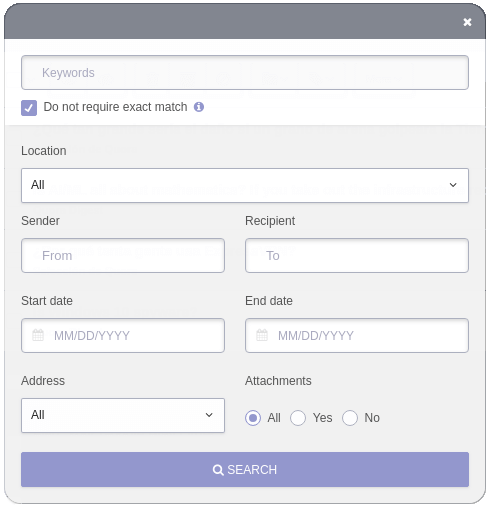 protonmail search