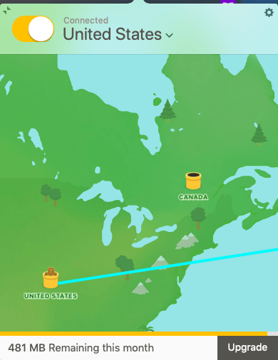 tunnelbear us server locations