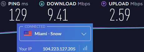 windscribe us speeds slow