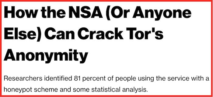 Tor attack