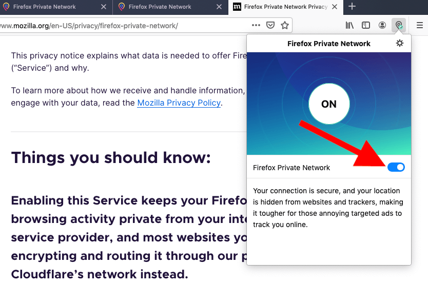 firefox browser vpn