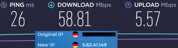 Hide my ass slow speeds