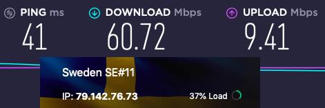 ProtonVPN speed Europe