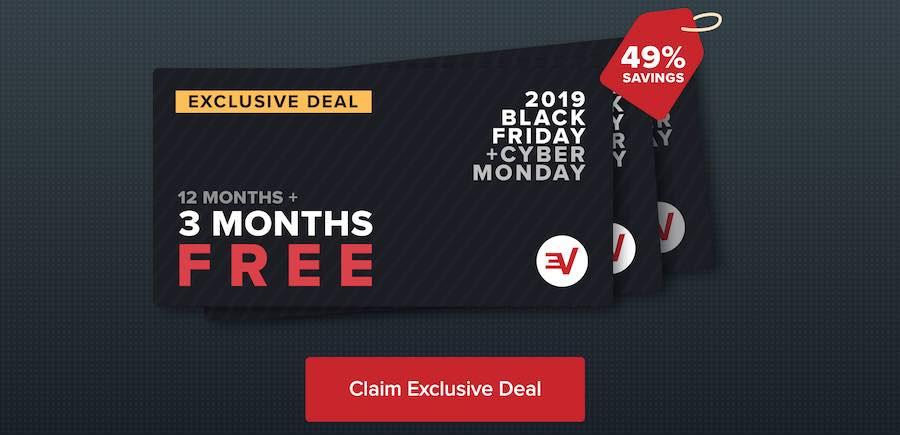 expressvpn black friday cyber monday sale