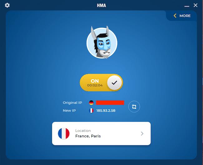 hma vpn app