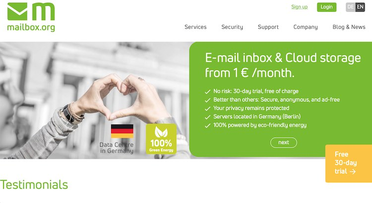 mailbox.org email