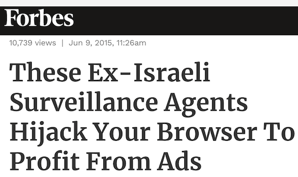 private internet israeli spies