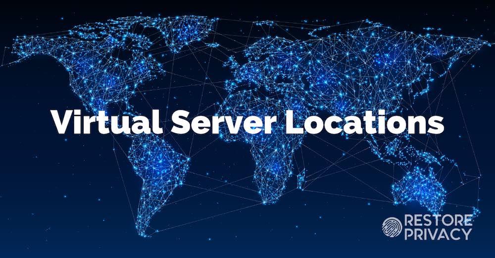 virtual server locations
