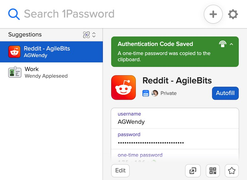1password x chrome